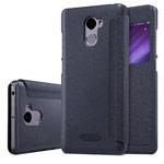 Чехол Nillkin Sparkle Leather Case для Xiaomi Redmi 4 (темно-серый, винилискожа)