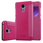 Чехол Nillkin Sparkle Leather Case для Xiaomi Redmi 4 (розовый, винилискожа)