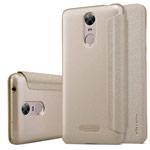 Чехол Nillkin Sparkle Leather Case для Huawei Enjoy 6 (золотистый, винилискожа)