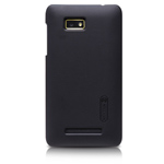 Чехол Nillkin Hard case для HTC Desire 400/One SU T528w (черный, пластиковый)