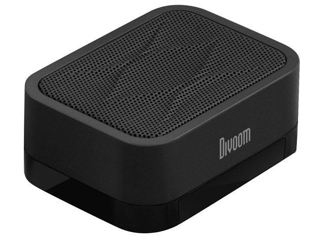 Портативная колонка Divoom iFit-1 с подставкой (черная, моно)
