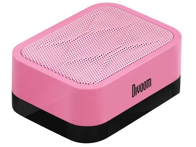 Портативная колонка Divoom iFit-1 с подставкой (розовая, моно)