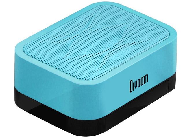 Портативная колонка Divoom iFit-1 с подставкой (голубая, моно)
