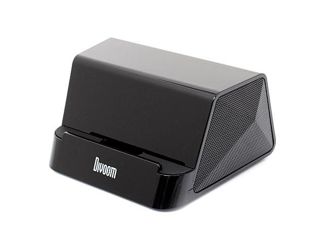 Портативная колонка Divoom iFit-2 с подставкой (черная, стерео)