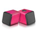 Купить Стерео-колонки Divoom IRIS-02 (красные, стерео, компьютерные)