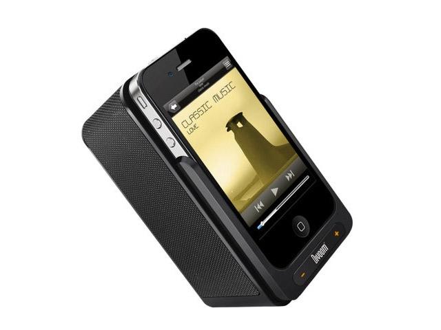 Акустичесная dock-станция Divoom iFit-4 для Apple iPhone 4/4S, iPod touch (4th gen.) (черная, стерео)