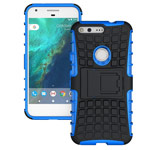Чехол Yotrix Shockproof case для Google Pixel (синий, пластиковый)