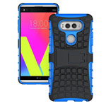 Чехол Yotrix Shockproof case для LG V20 (синий, пластиковый)