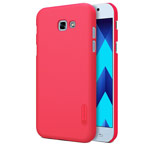 Чехол Nillkin Hard case для Samsung Galaxy A7 2017 (красный, пластиковый)