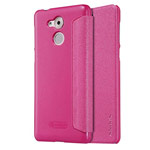 Чехол Nillkin Sparkle Leather Case для Huawei Enjoy 6S (розовый, винилискожа)
