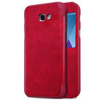 Чехол Nillkin Qin leather case для Samsung Galaxy A5 2017 (красный, кожаный)