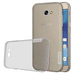 Чехол Nillkin Nature case для Samsung Galaxy A3 2017 (серый, гелевый)