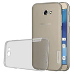 Чехол Nillkin Nature case для Samsung Galaxy A7 2017 (серый, гелевый)