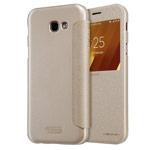 Чехол Nillkin Sparkle Leather Case для Samsung Galaxy A5 2017 (золотистый, винилискожа)