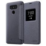 Чехол Nillkin Sparkle Leather Case для LG G6 (темно-серый, винилискожа)