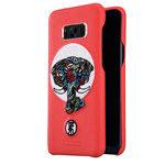 Чехол Nillkin Brocade Case для Samsung Galaxy S8 plus (красный, кожаный)