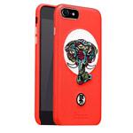 Чехол Nillkin Brocade Case для Apple iPhone 7 (красный, кожаный)
