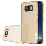 Чехол Nillkin Nature case для Samsung Galaxy S8 plus (золотистый, гелевый)