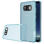 Чехол Nillkin Nature case для Samsung Galaxy S8 plus (голубой, гелевый)