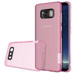 Чехол Nillkin Nature case для Samsung Galaxy S8 plus (розовый, гелевый)