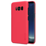 Чехол Nillkin Hard case для Samsung Galaxy S8 plus (красный, пластиковый)