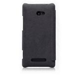 Чехол Nillkin Tree-texture Leather Case для HTC Windows Phone 8X (черный, кожанный)