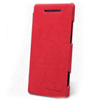 Чехол Nillkin Tree-texture Leather Case для HTC Windows Phone 8X (красный, кожанный)