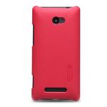 Чехол Nillkin Hard case для HTC Windows Phone 8X (красный, пластиковый)
