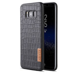 Чехол G-Case Dark Series для Samsung Galaxy S8 (Crocodile Skin, кожаный)