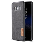 Чехол G-Case Dark Series для Samsung Galaxy S8 (Canvas, матерчатый)