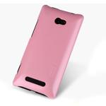 Чехол Nillkin Shining Shield для HTC Windows Phone 8X (розовый, пластиковый)