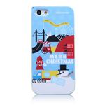Чехол Nillkin Impression Merry Christmas для Apple iPhone 5 (голубой, пластиковый)