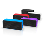 Купить Портативная колонка Divoom Onbeat-200 (фиолетовая, безпроводная, стерео)