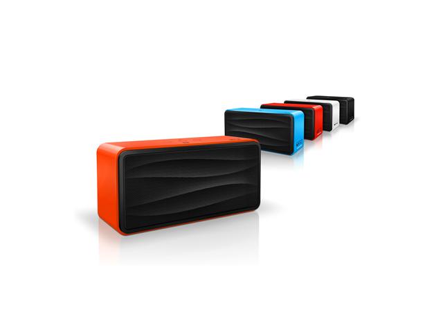 Портативная колонка Divoom Onbeat-500 (оранжевая, безпроводная, стерео 2.1)