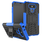 Чехол Yotrix Shockproof case для LG G6 (синий, пластиковый)