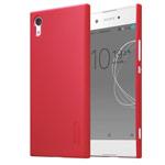 Чехол Nillkin Hard case для Sony Xperia XA1 (красный, пластиковый)