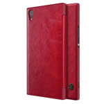 Чехол Nillkin Qin leather case для Sony Xperia XA1 ultra (красный, кожаный)