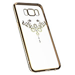 Чехол Devia Iris case для Samsung Galaxy S8 plus (Champagne Gold, гелевый)