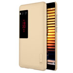 Чехол Nillkin Hard case для Meizu Pro 7 (золотистый, пластиковый)