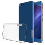 Чехол Nillkin Nature case для Xiaomi Mi Note 3 (серый, гелевый)