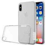 Чехол Nillkin Nature case для Apple iPhone X (прозрачный, гелевый)