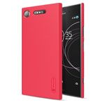 Чехол Nillkin Hard case для Sony Xperia XZ1 (красный, пластиковый)