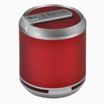 Купить Портативная колонка Divoom Bluetune-SOLO (красная, безпроводная, моно)