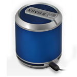 Купить Портативная колонка Divoom Bluetune-SOLO (синяя, безпроводная, моно)