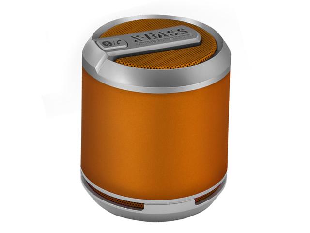 Портативная колонка Divoom Bluetune-SOLO (оранжевая, безпроводная, моно)