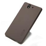 Чехол Nillkin Hard case для Sony Xperia Z L36i/L36h (темно-коричневый, пластиковый)