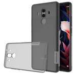 Чехол Nillkin Nature case для Huawei Mate 10 pro (серый, гелевый)
