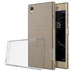 Чехол Nillkin Nature case для Sony Xperia XA1 plus (серый, гелевый)