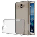 Чехол Nillkin Nature case для Huawei Mate 10 (серый, гелевый)