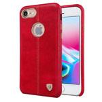 Чехол Nillkin Englon Leather Cover для Apple iPhone 8 (красный, кожаный)